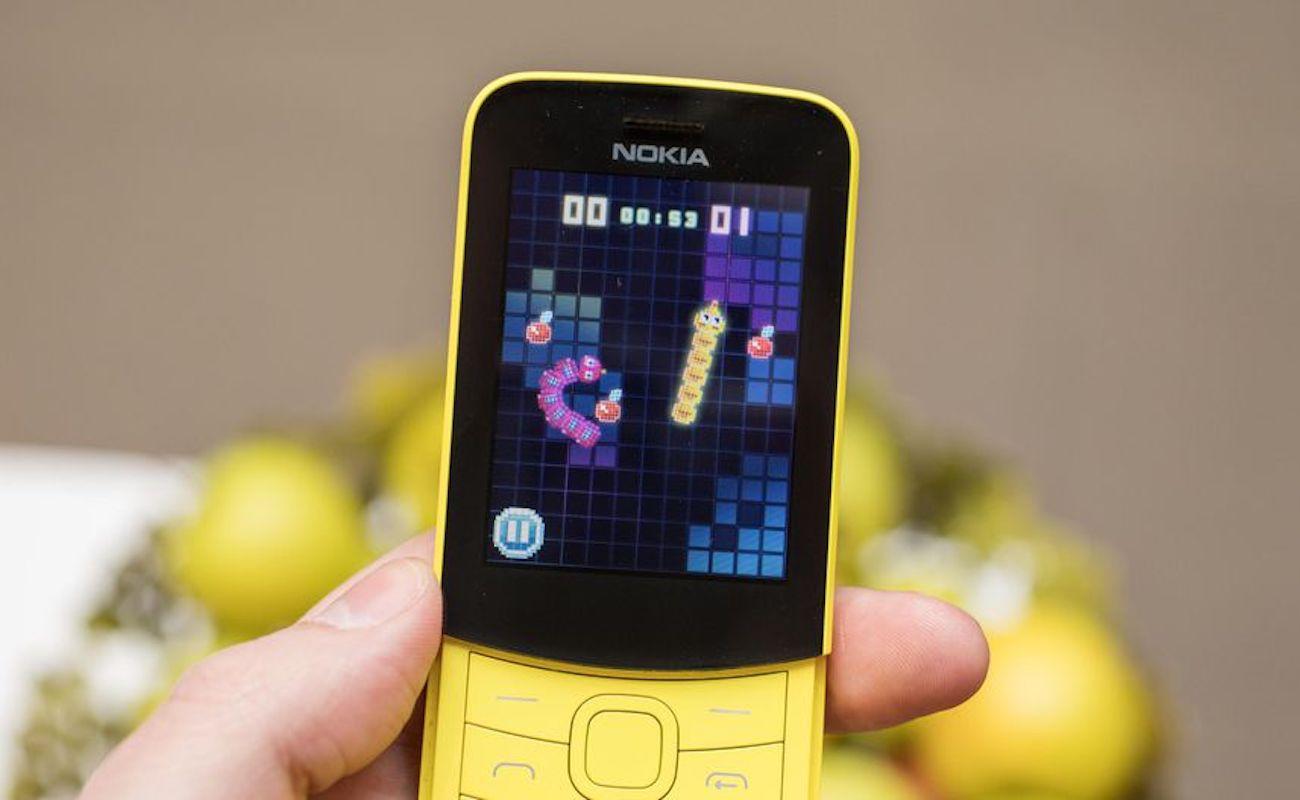 nokia 8110 4g dual sim banana smartphone gadget flow. Black Bedroom Furniture Sets. Home Design Ideas