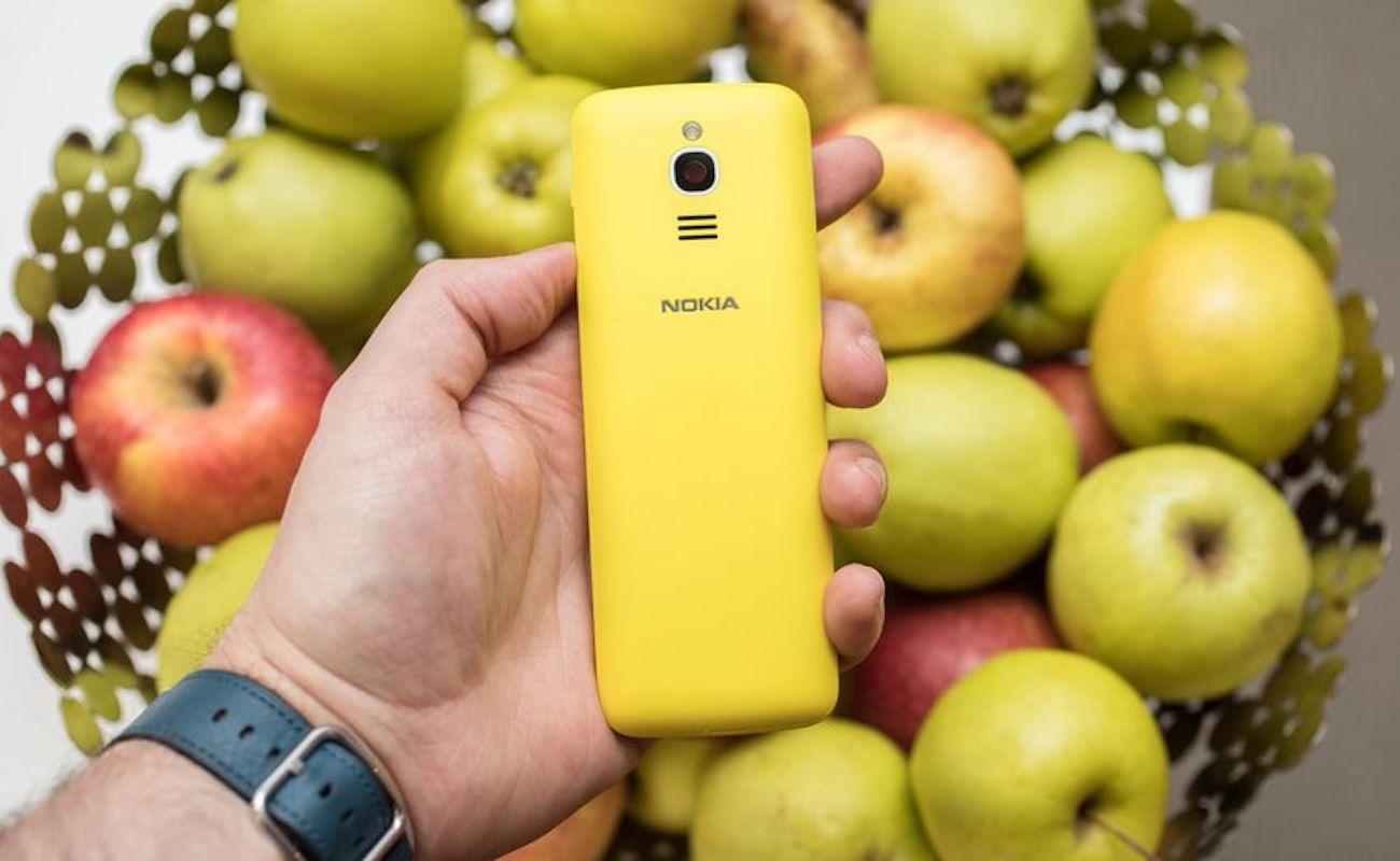 Nokia 8110 4G Dual SIM Banana Smartphone
