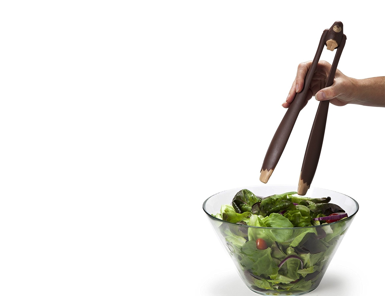 OTOTO Bigfoot Salad Serving Tongs