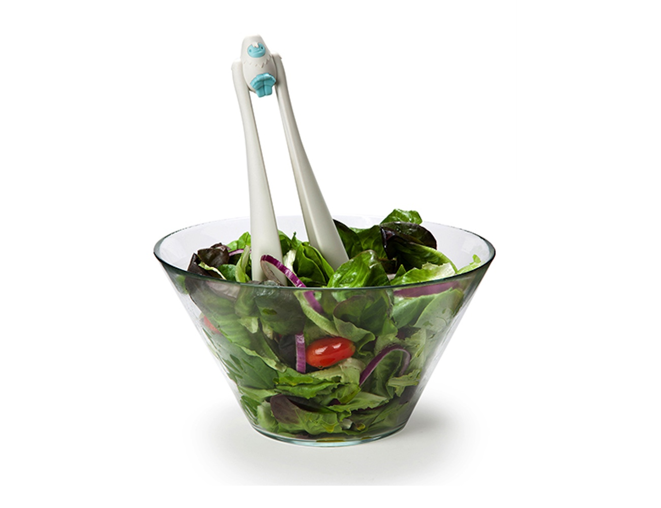 OTOTO Bigfoot Salad Serving Tongs