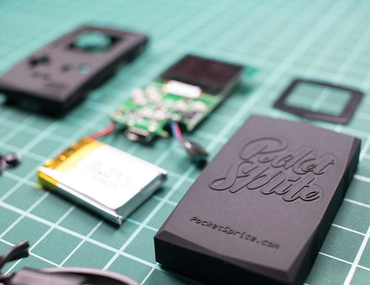 PocketSprite Portable Retro Gaming Device