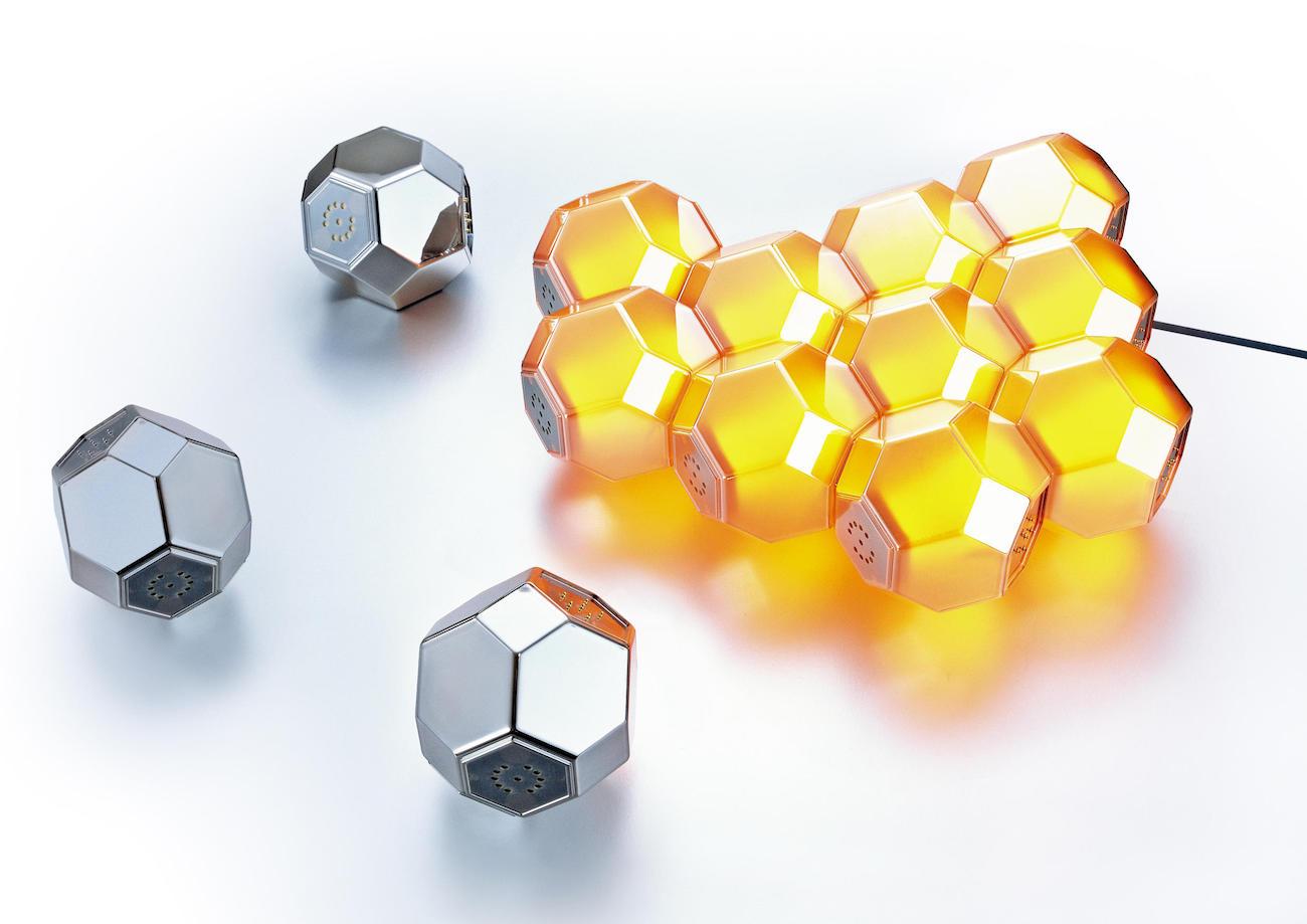 QisDesign Crystal LED Light
