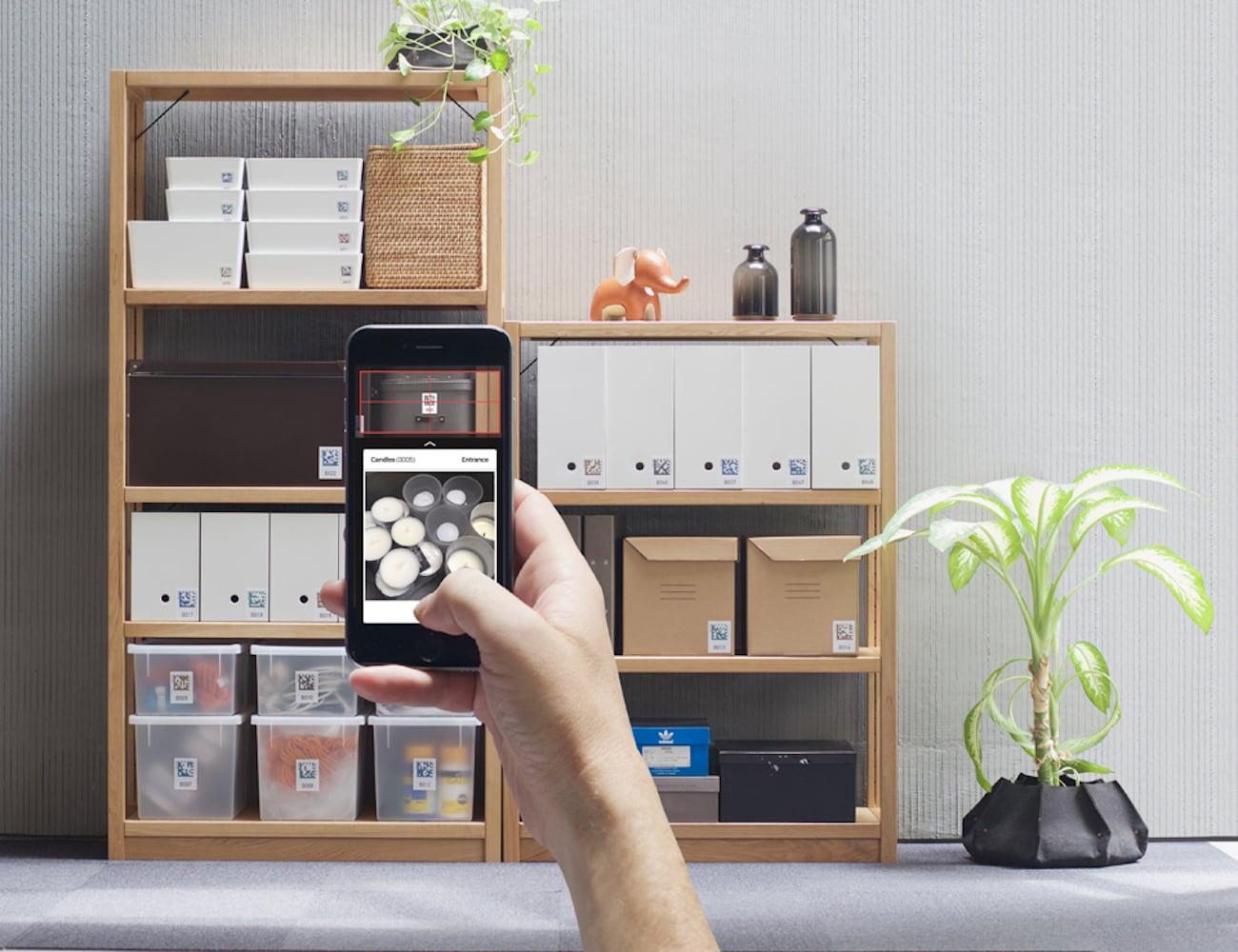 Quick Peek Smart Storage Labels