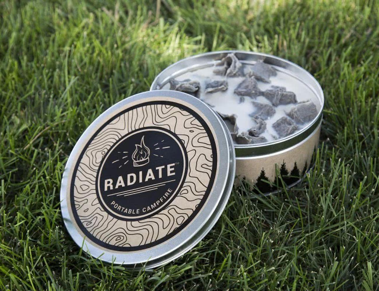 Radiate Reusable Waterproof Portable Campfire