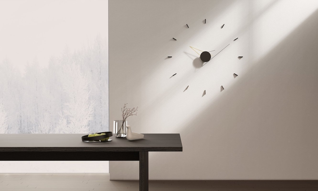 Silo Sculptural Wall Clock