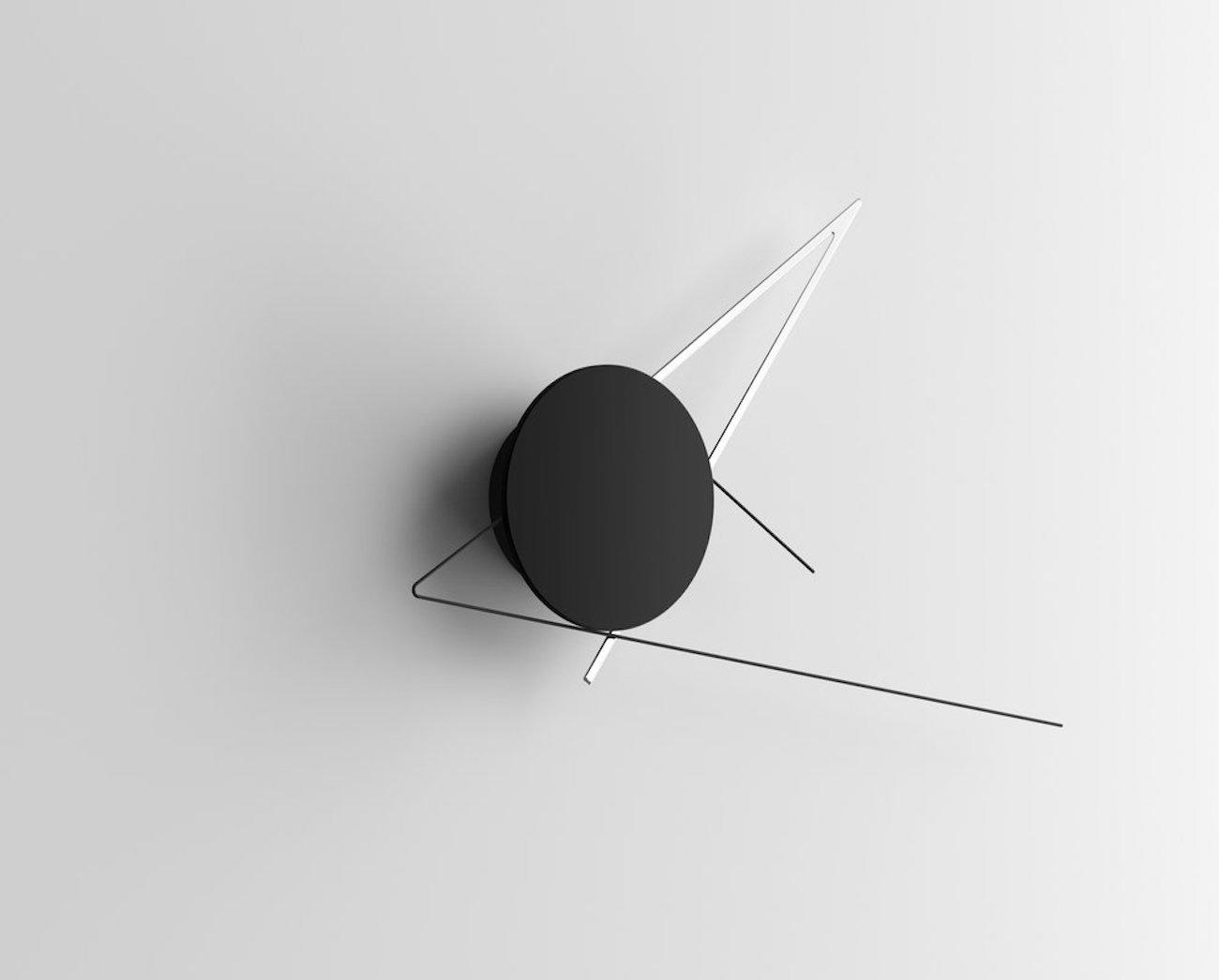 Silo Sculptural Wall Clock