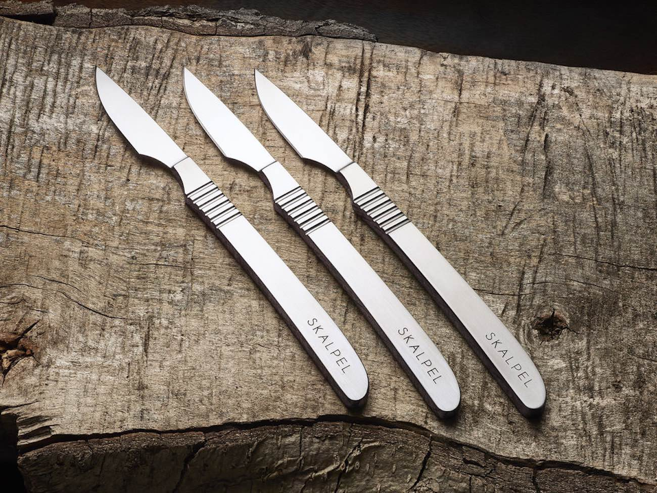 Skalpel Steel Steak Knife