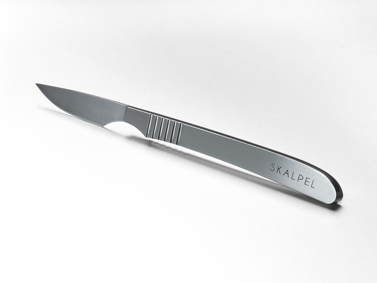 Skalpel Steel Steak Knife