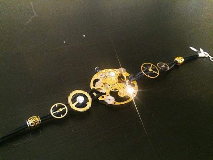 Skeleton+XIII+Watch+Inspired+Bracelet