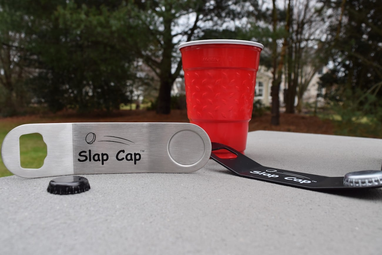 Slap Cap Trick Shot Bottle Opener