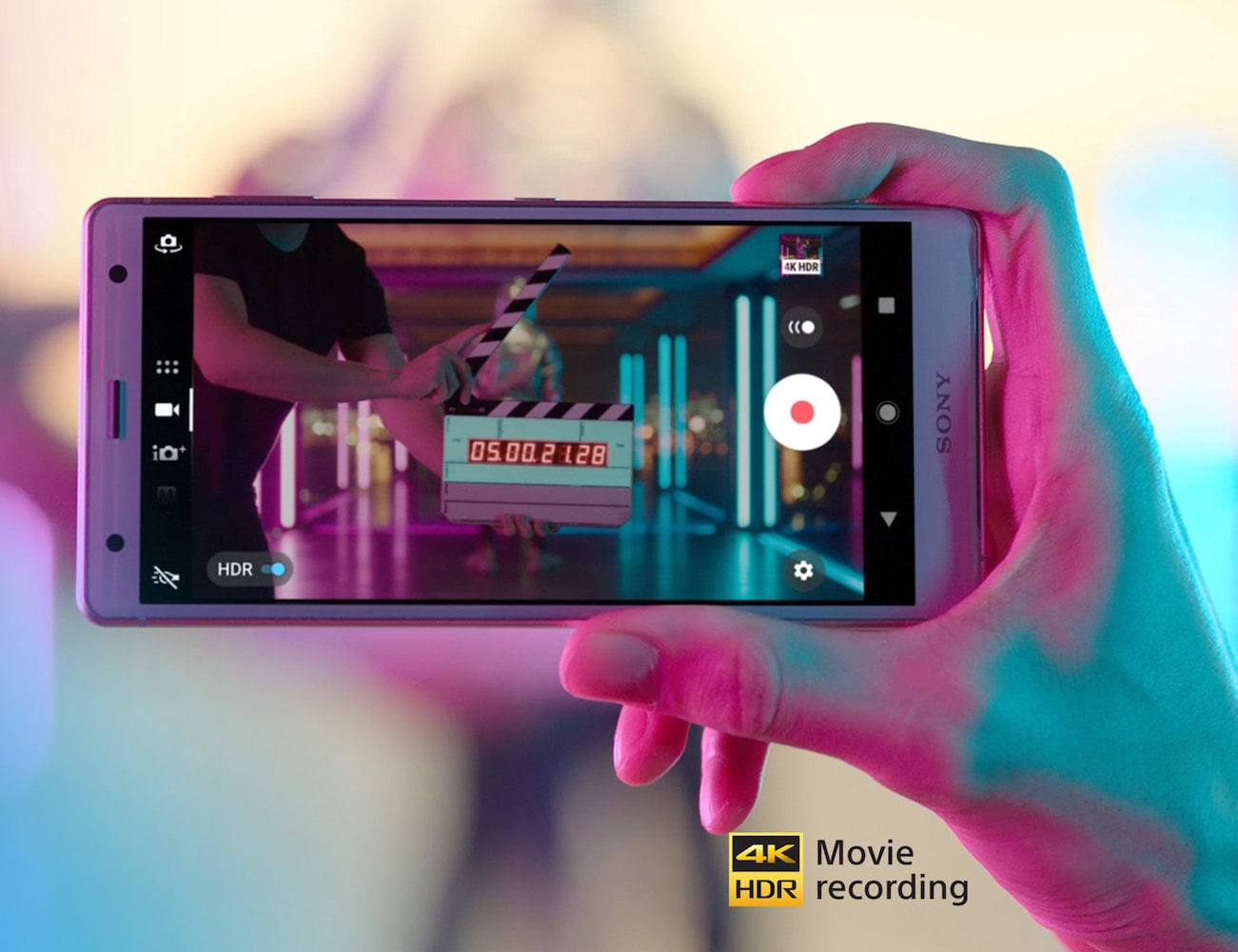 Sony Xperia XZ2 4K HDR Video Smartphone