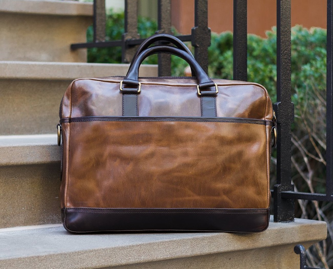 Thursday Boot Company Leather Briefcase