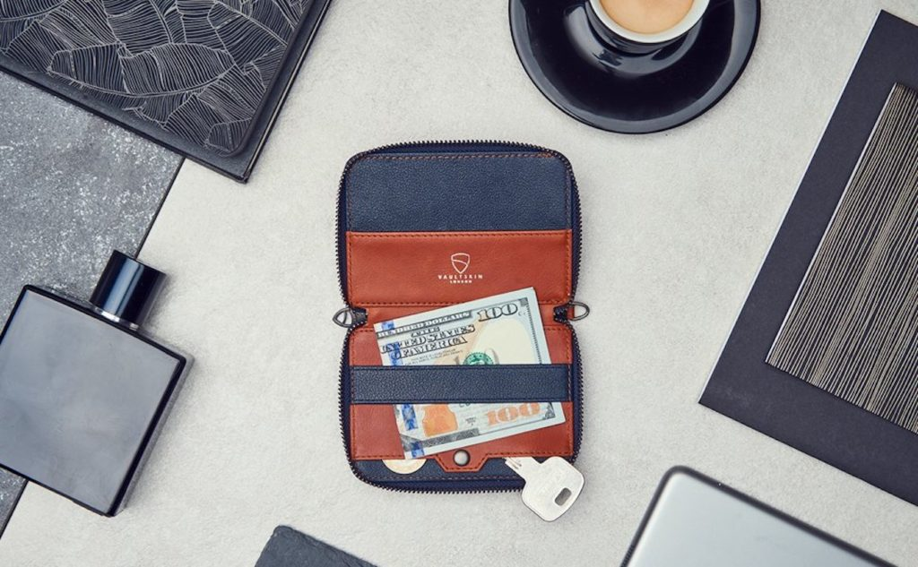 Vaultskin+NOTTING+HILL+Multipurpose+Zip+Wallet