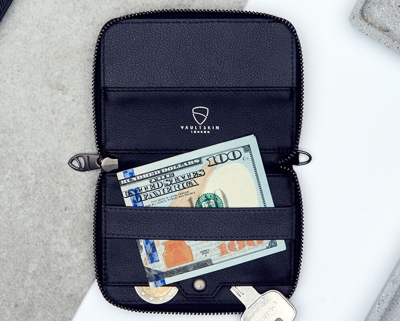 Vaultskin NOTTING HILL Multipurpose Zip Wallet