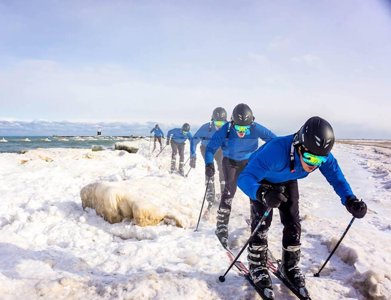 WhiSki Poles Ski Pole Flask