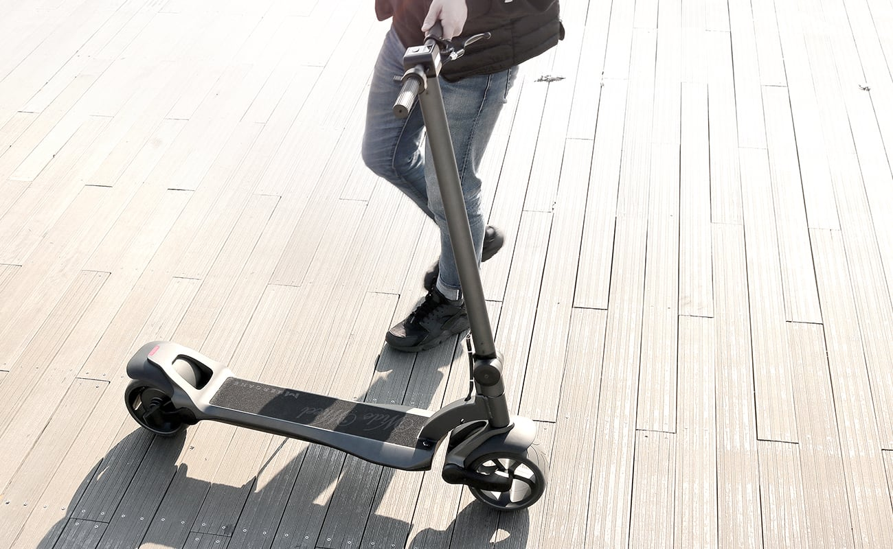 WideWheel Comfortable E-Scooter