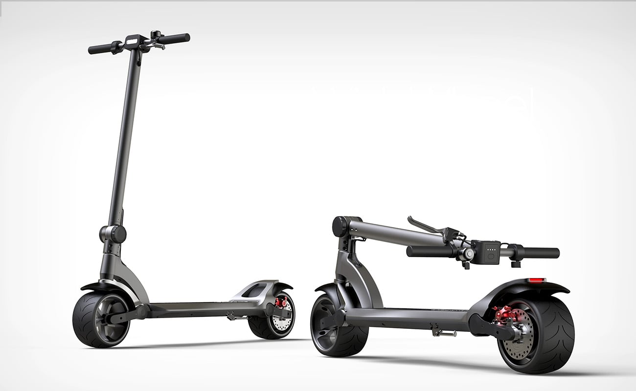 Widewheel Comfortable E Scooter