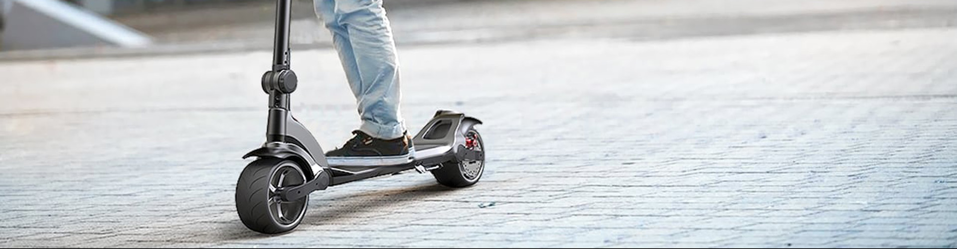 WideWheel is the most comfortable electric scooter you'll ever ride