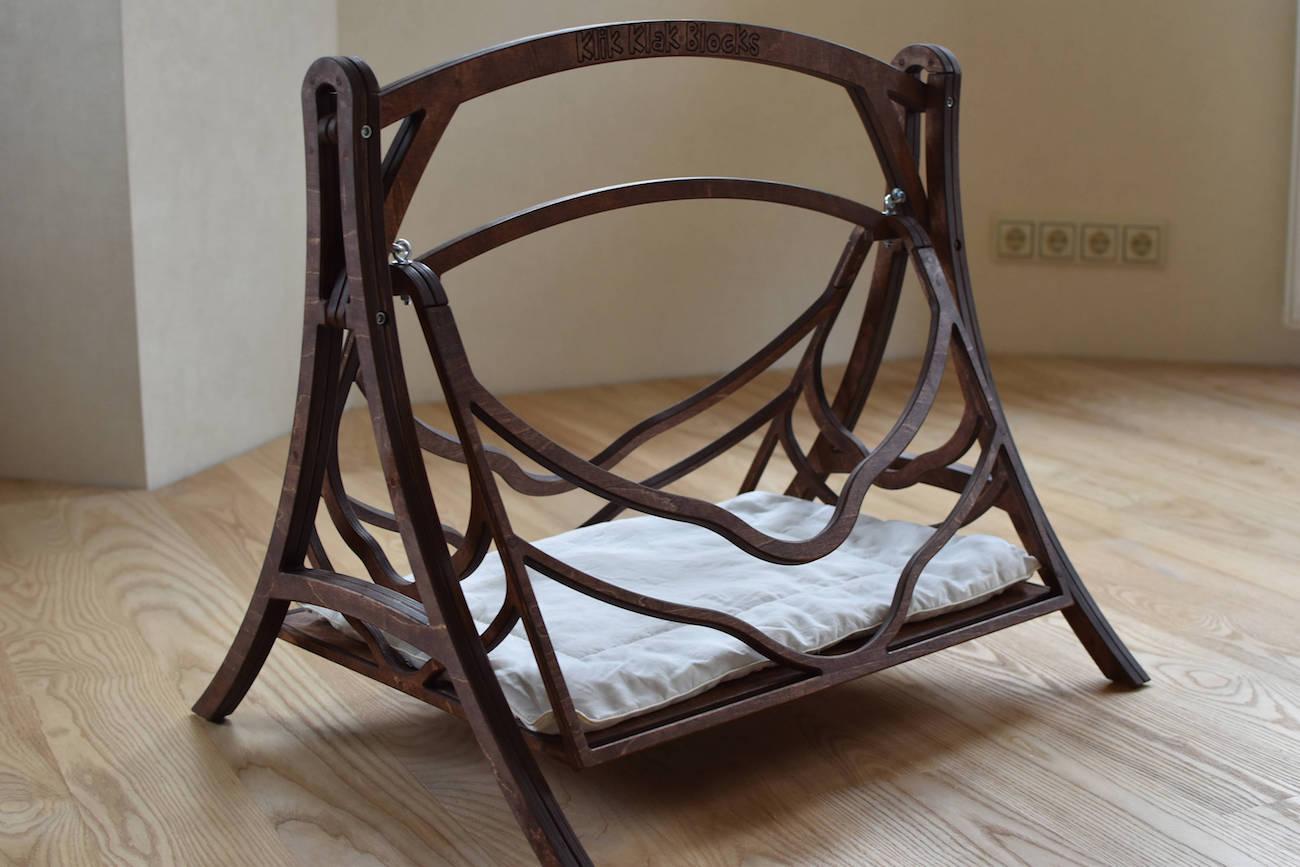 Wood Swing Cat Bed