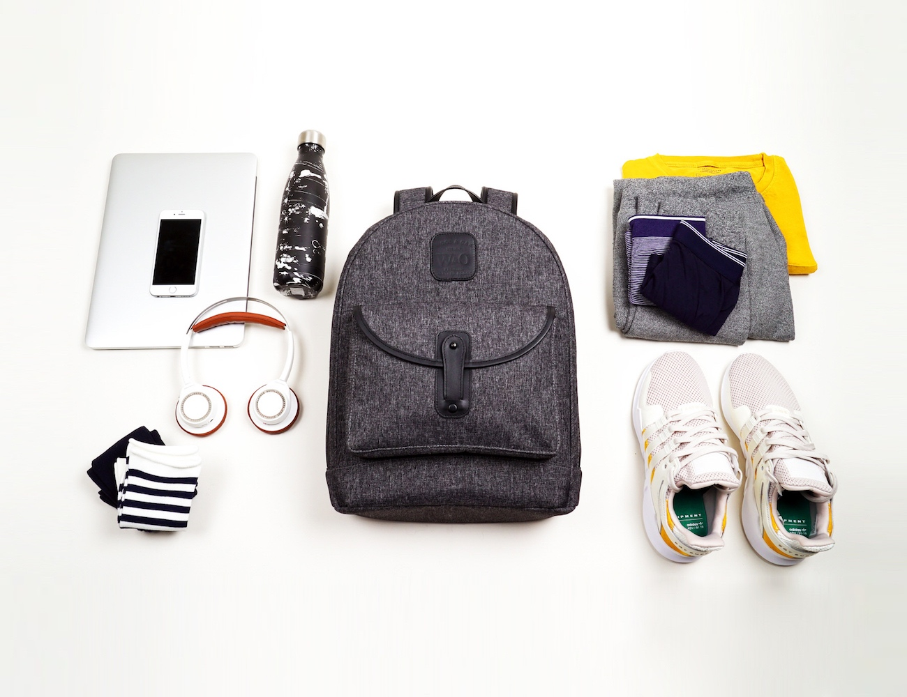 Wool & Oak Duffle Backpack Sport