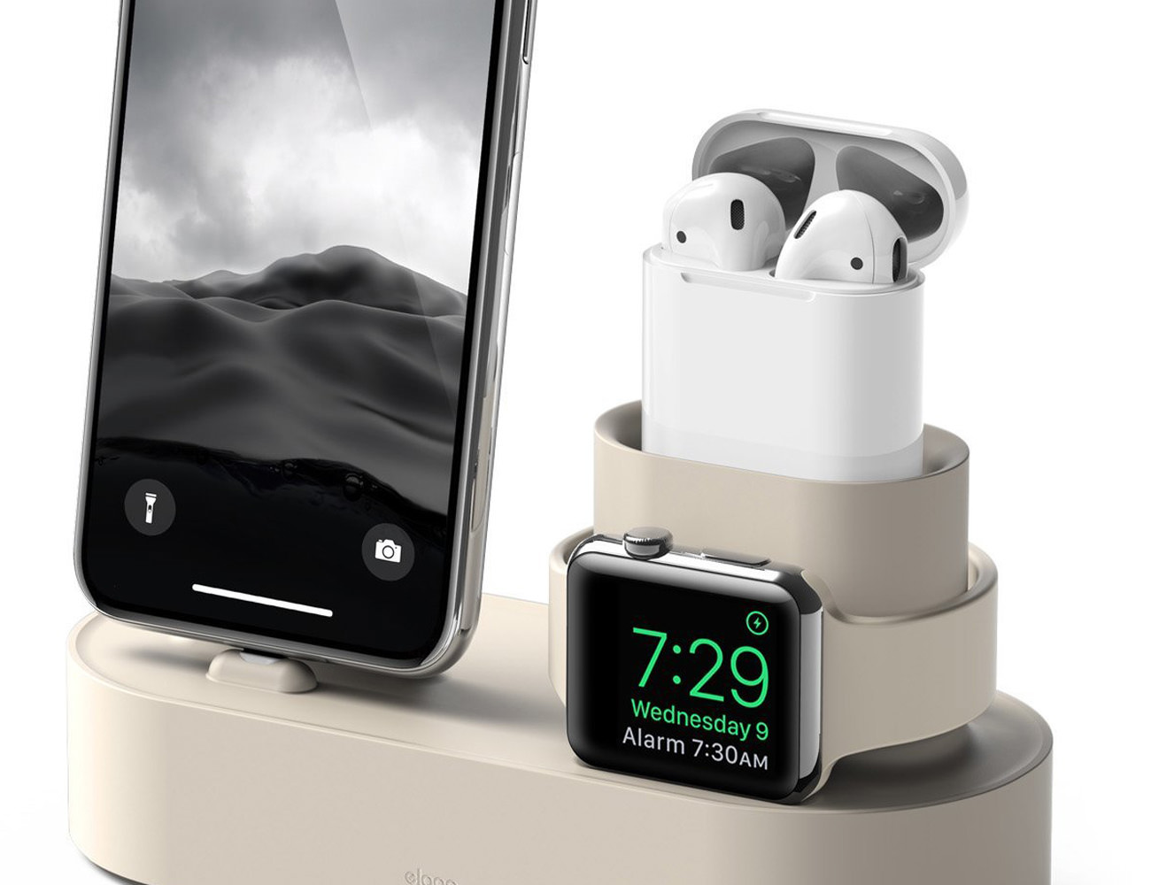 elago Charging Hub 3-in-1 Dock for Apple Devices