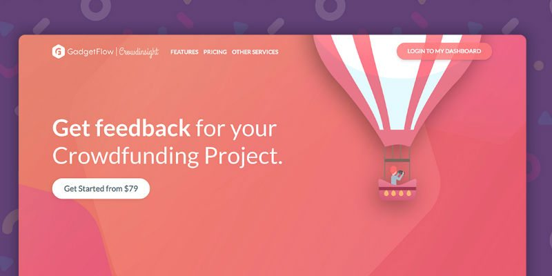 Crowdinsight – Get honest crowdfunding feedback from real people