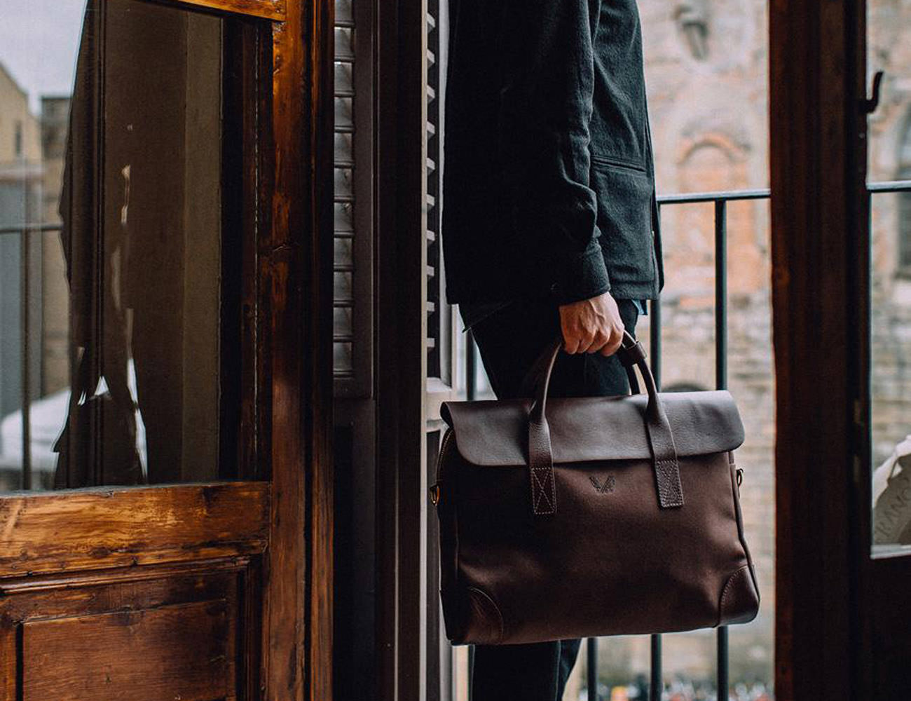 Bennett Winch Brief Handmade Travel Bag