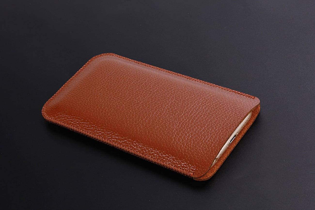 iPhone X Leather Sleeve
