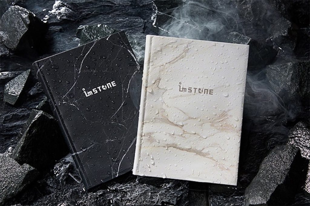 imSTONE+Collection+RockBook+Stone+Paper+Notebook