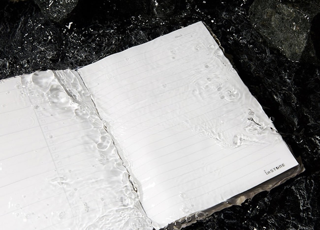 imSTONE Collection RockBook Stone Paper Notebook