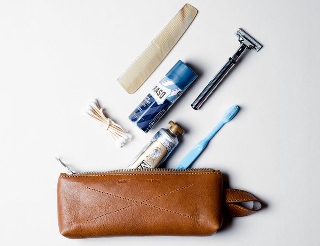 Leather+Dopp+Bag