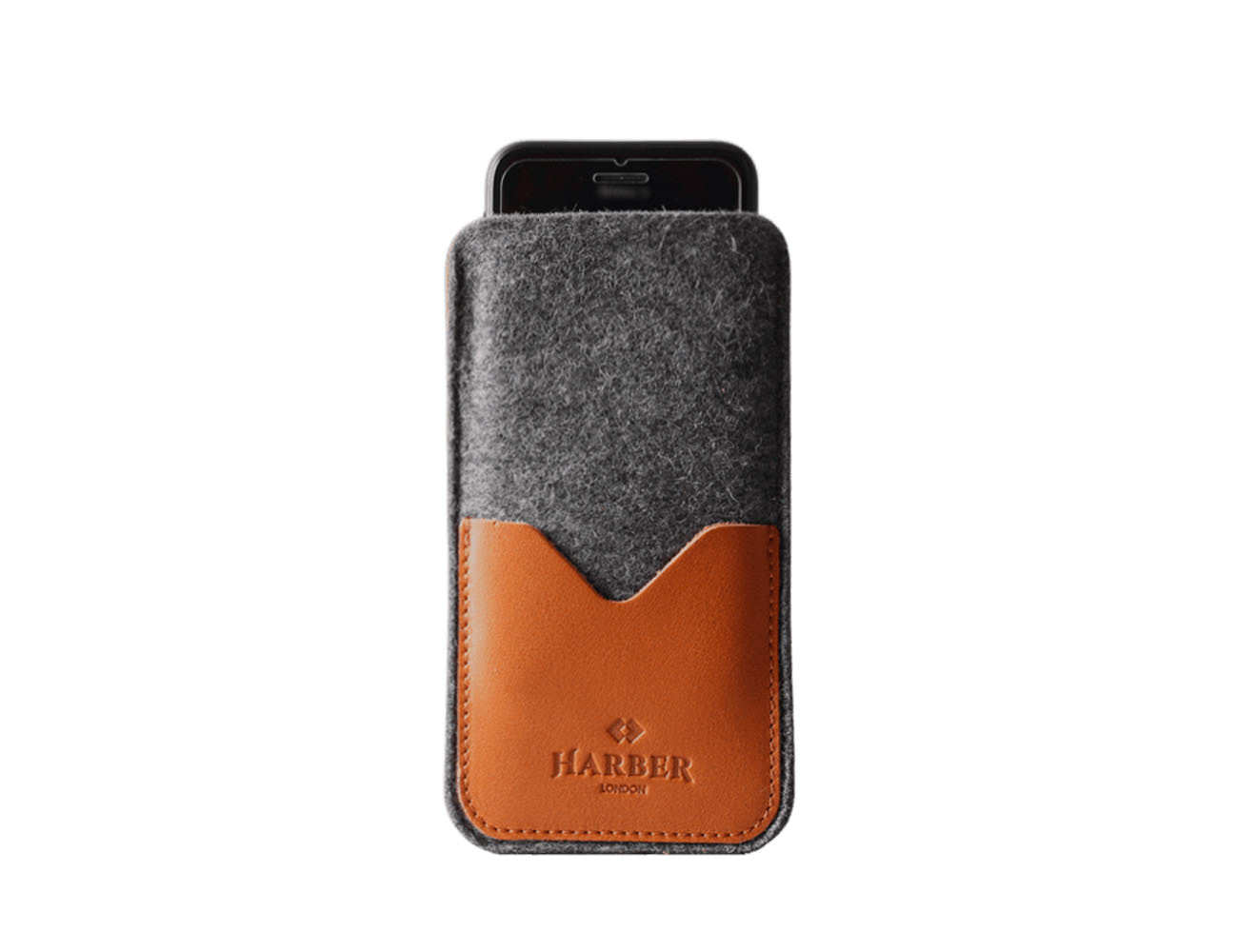 Harber London Leather Smartphone Sleeve Wallet