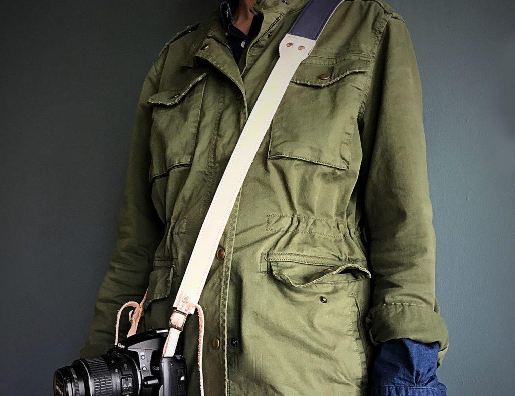 this.hang+Minimal+Leather+Camera+Strap