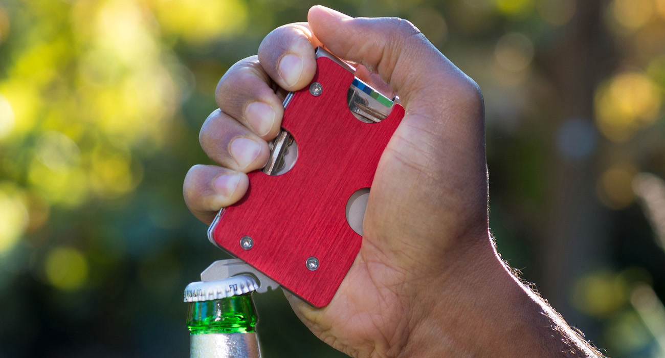 KeyClip is the perfect wallet for EDC enthusiasts