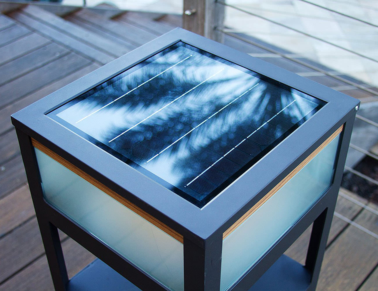 Portico Solar Sound Pro Bluetooth Speaker and Charging Table