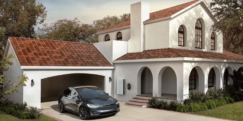 Tesla solar roof project