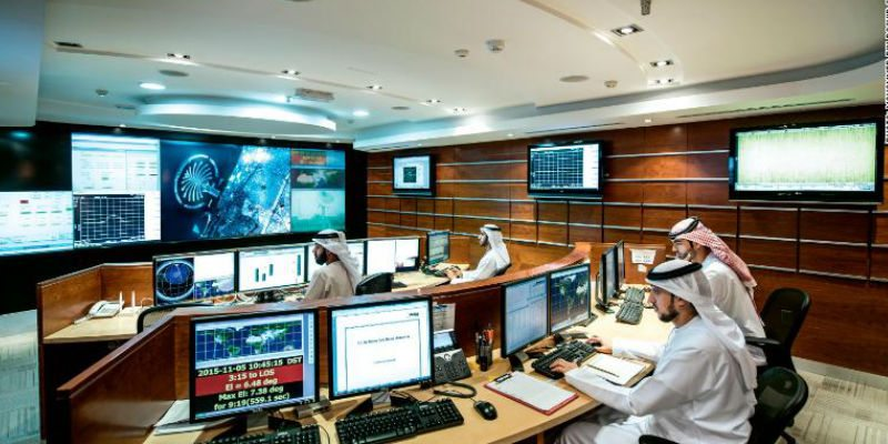 The satellite control room at the Mohammed Bin Rashid Space Centre in Dubai/ CNN Money