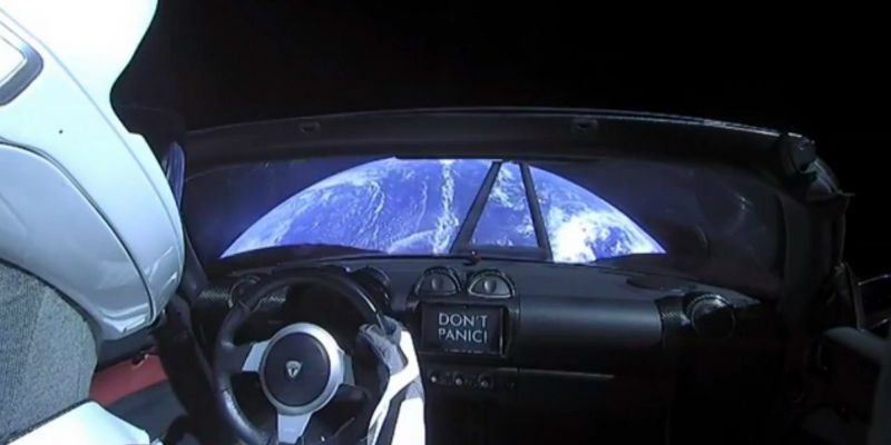 A Tesla in space today - What's coming up tomorrow?