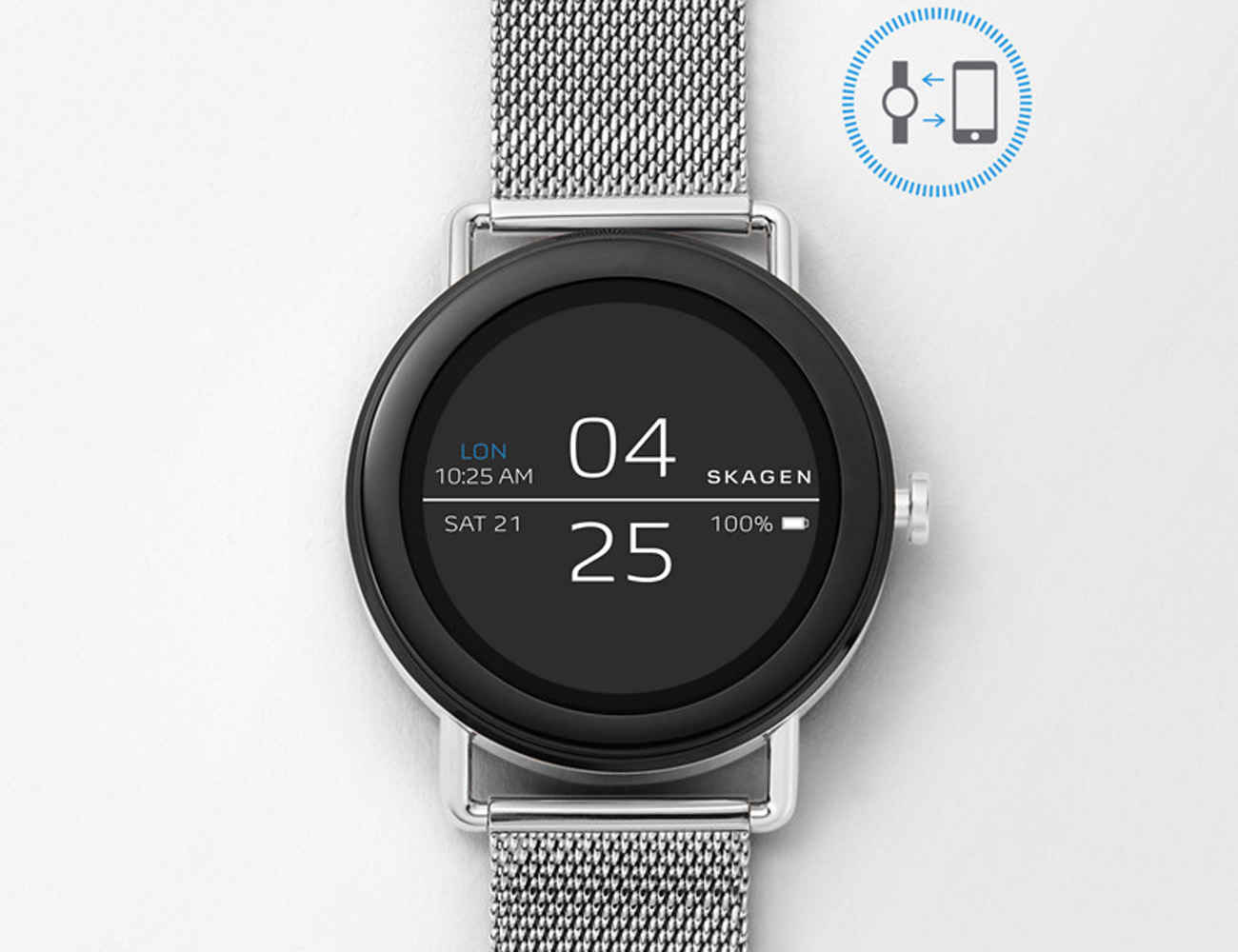 Skagen Falster Steel Mesh Android Wear Smartwatch