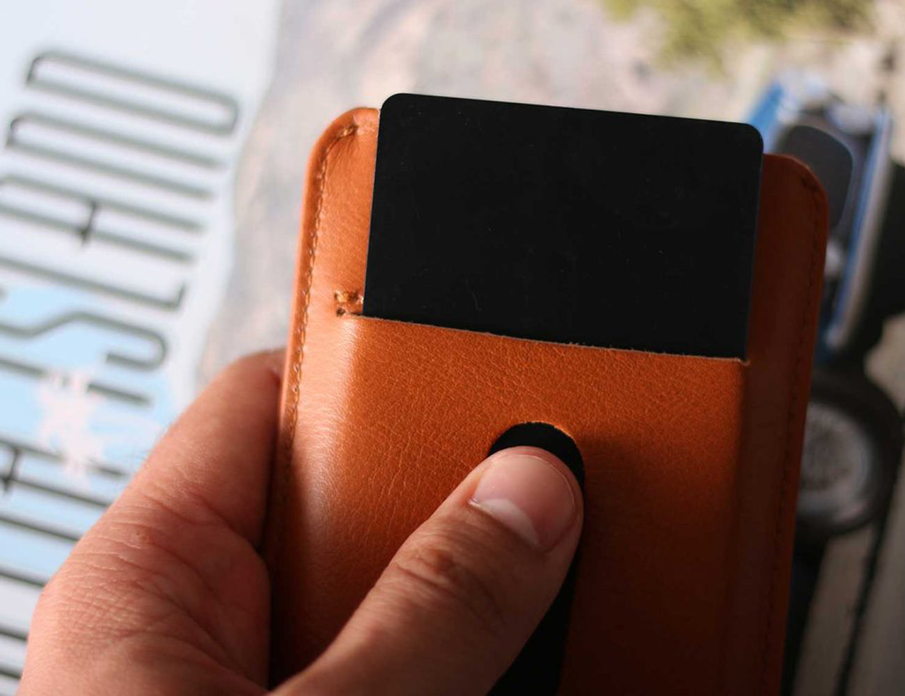 Haber London Super Slim Card Holder