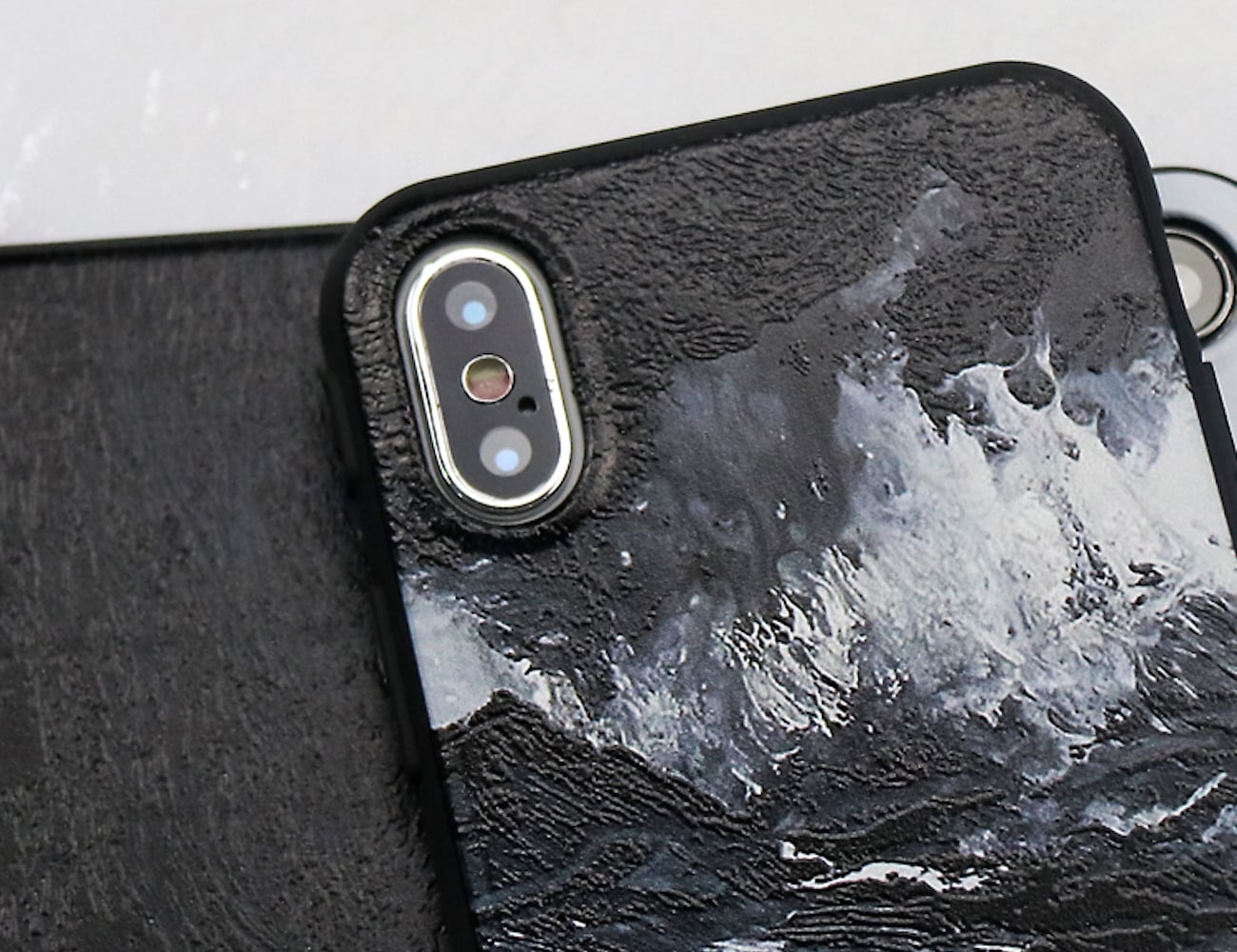 3D Painted iPhone X Case