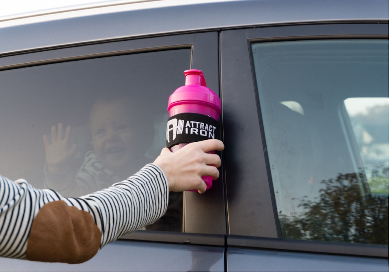 AFIXT Magnetic Bottle Holder