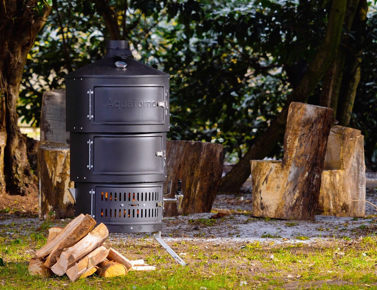 Aquaforno II Portable Outdoor Cooking Stove