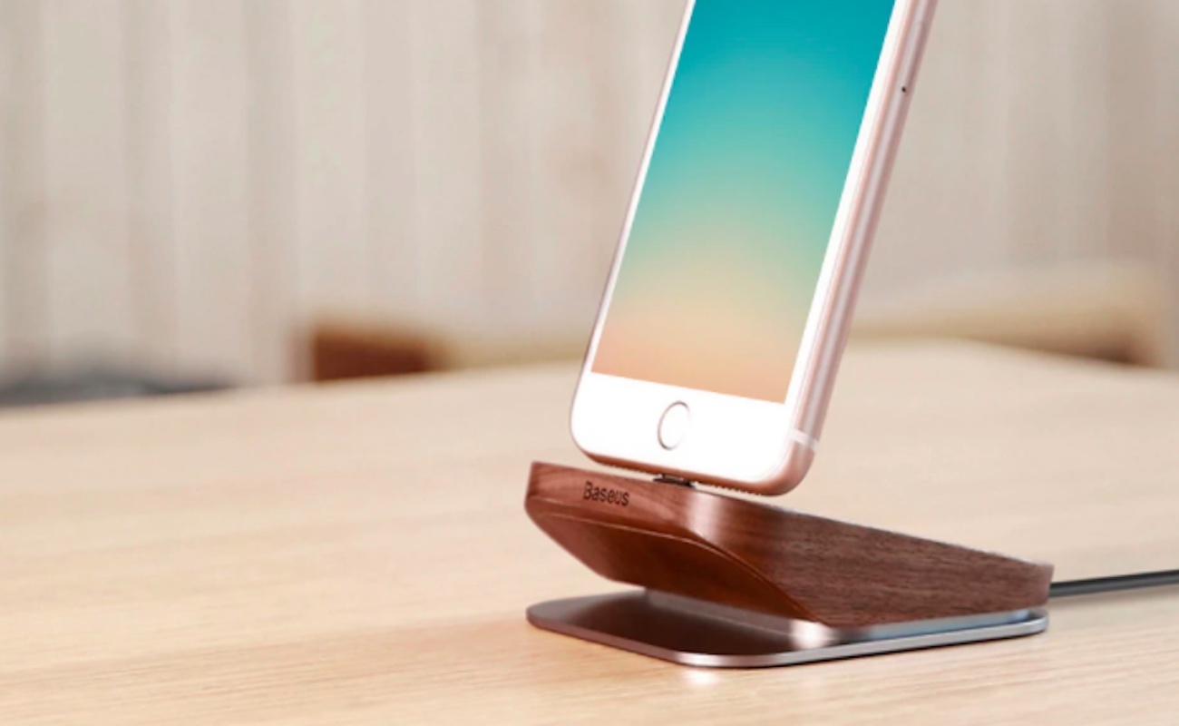 Baseus Duowood Desk Charging Station