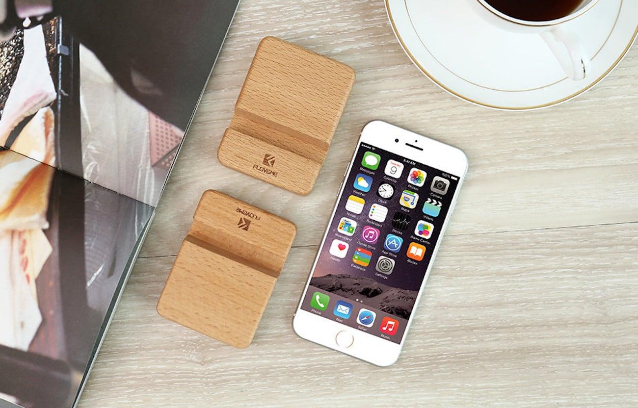 Beech Wood Phone Holder