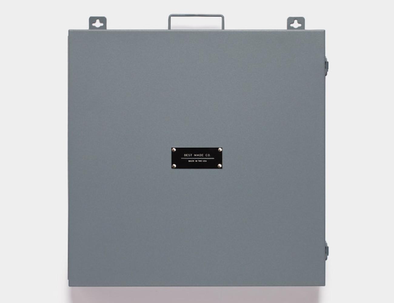 Best Made Company Metal Box Workshop Clock