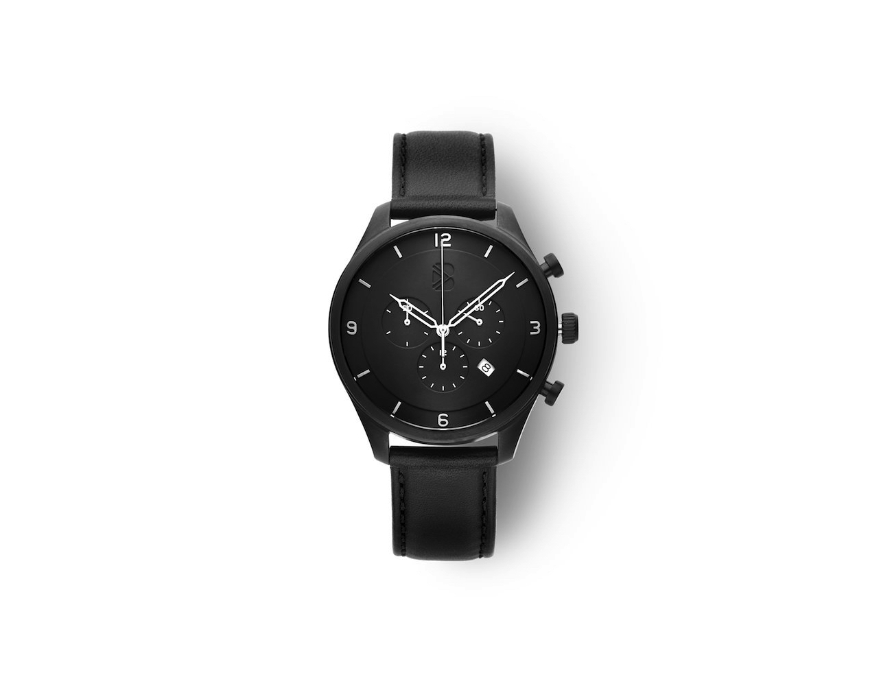 Bolder Watch Gunmetal Black Chronograph