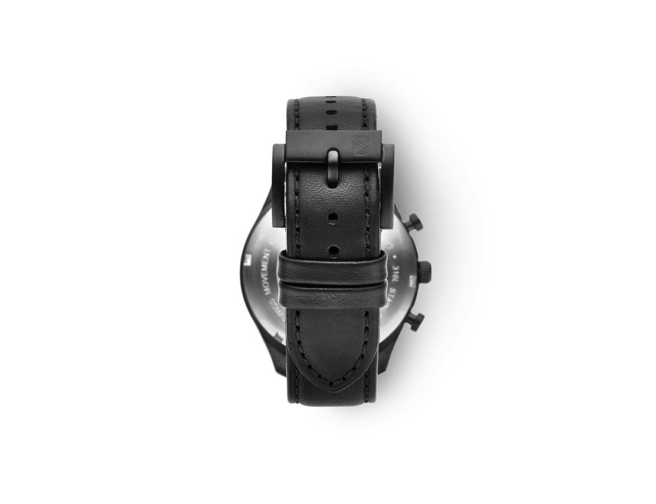 Bolder Watch Gunmetal Black Chronograph