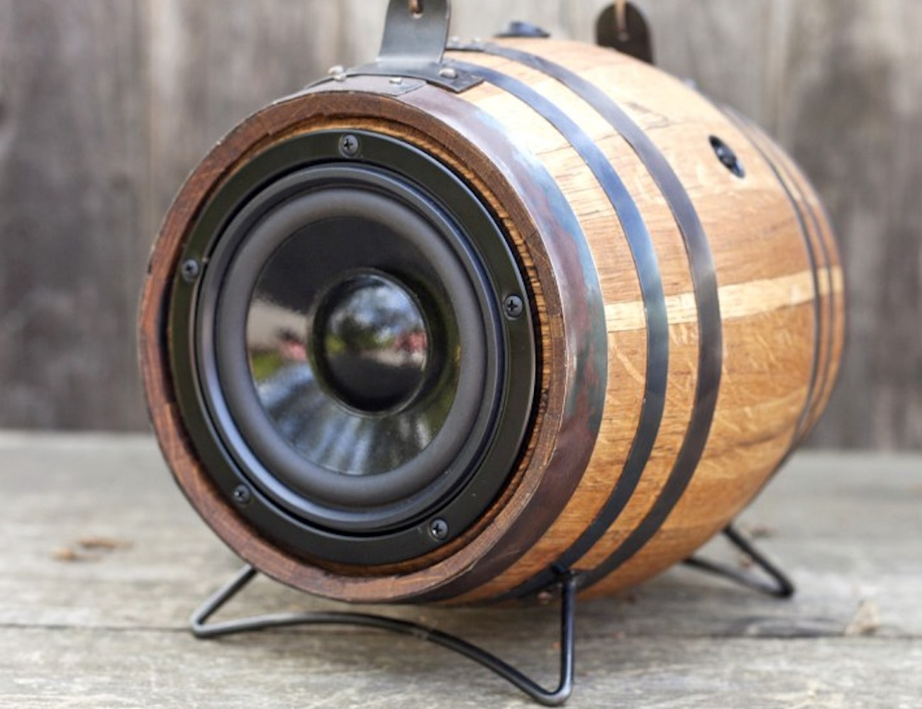 BoomCase Mini Viking Barrel Sound System