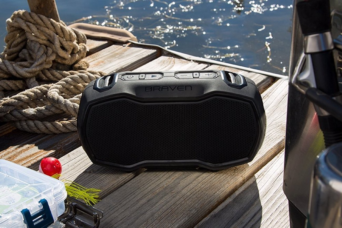 Braven Ready Elite Waterproof Bluetooth Speaker loading=